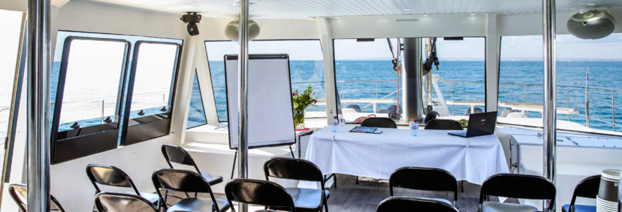 séminaire d'entreprise en bord de mer